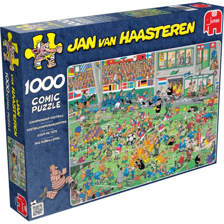 Voetbalkampioenschap 1.000 stukjes