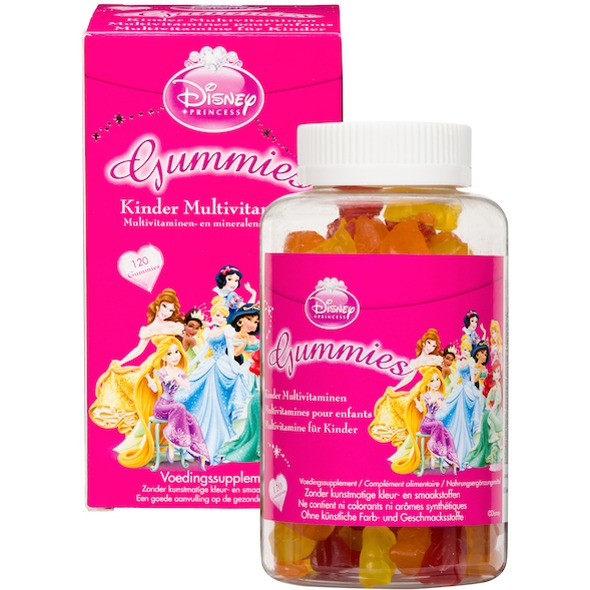 Disney Kinder Multivitaminen princess 120stuks