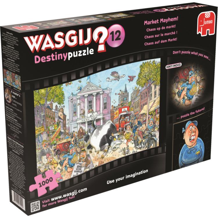 Jumbo Wasgij Destiny 12 Chaos op de markt (1000 stukjes)