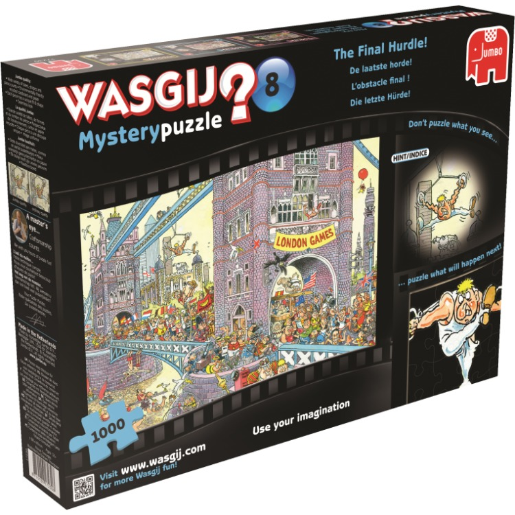 Jumbo Wasgij Mysterie 8 De laatste horde (1000 stukjes)