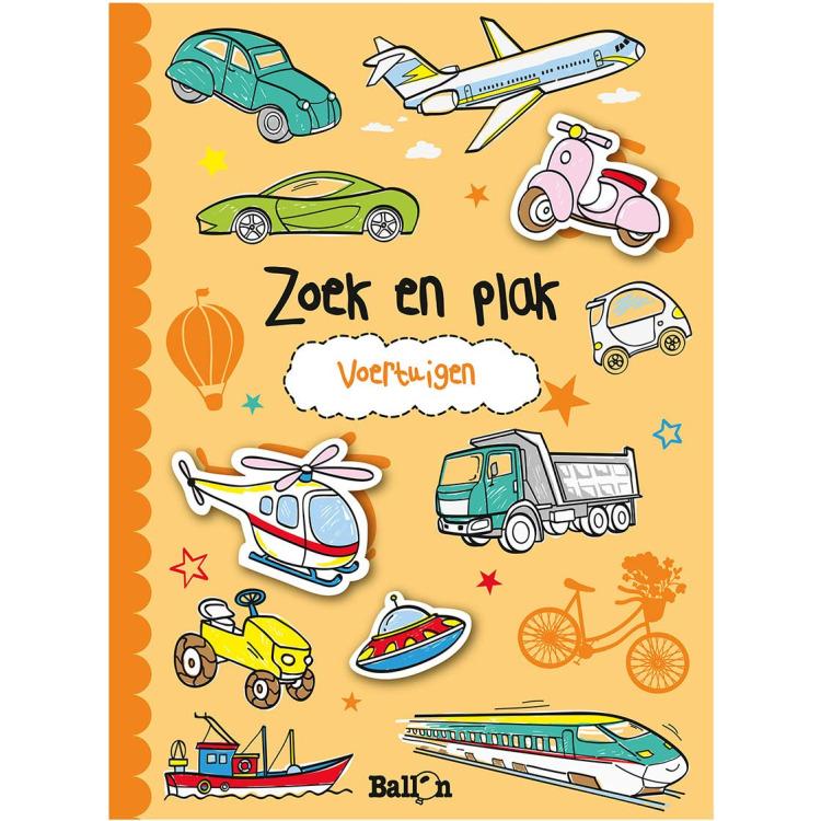 Image of Zoek En Plak - Voertuigen