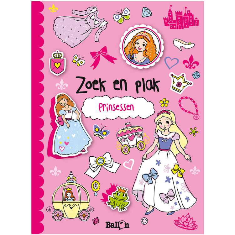 Image of Prinsessen Zoek En Plak