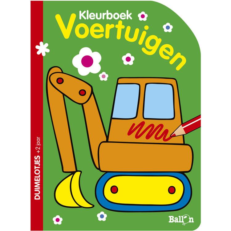 Image of Voertuigen Kleurboek