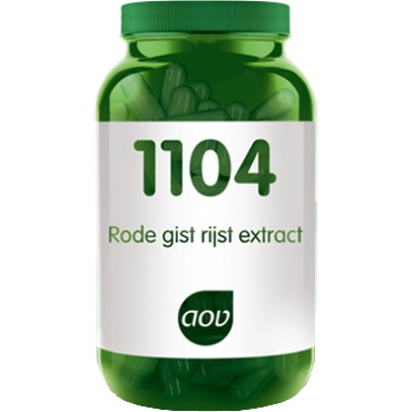 Image of 1104 Rode Gist Rijst Extract, 90 Vegacaps
