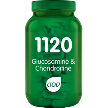 Image of 1120 Glucosamine & Chondroïtine, 60 Vegacaps