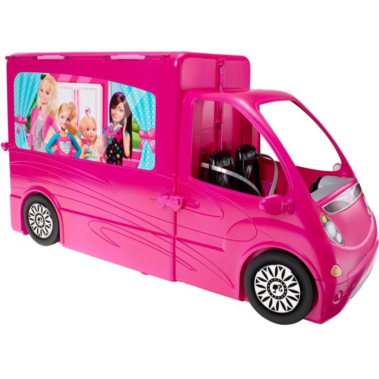 Barbie kampeerauto