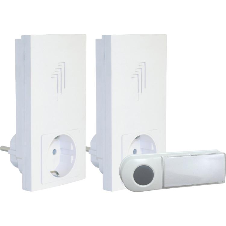 Twin Plug Door Chime Kit 50m DB433E