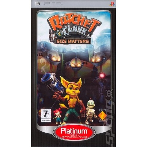 Ratchet & Clank, Size Matters (Essentials)  PSP