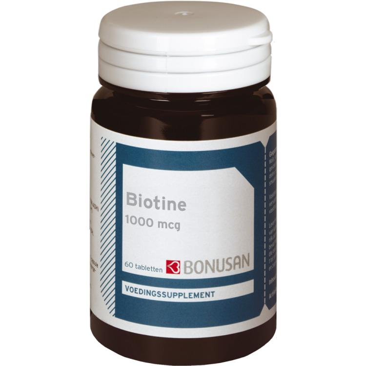 Image of Biotine 1000 Mcg - 60 Tabletten