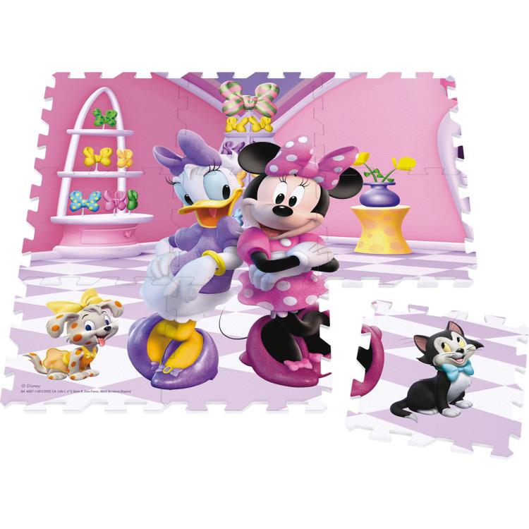 Jumbo Minnie Foam - Vloerpuzzel - 9 stukjes
