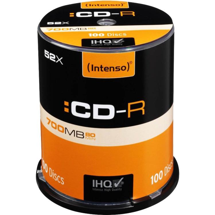Intenso CD-R 1001126 100 stuks 700 MB 80 min.