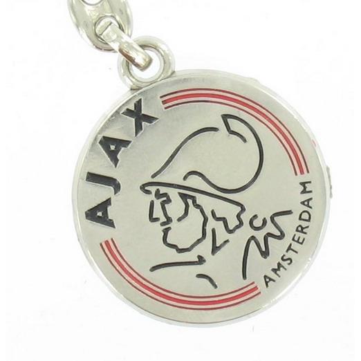 Image of Ajax Sleutelhanger Metaal Logo