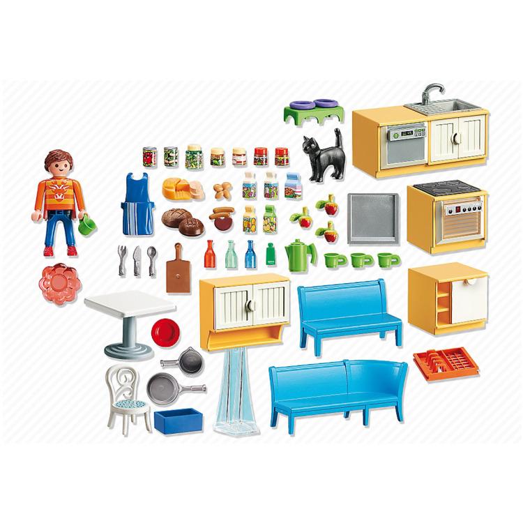 Keuken Met Kookeiland Kopen : 21 95 keuken met zithoek 5336 keuken met zithoek 5336 playmobil kopen