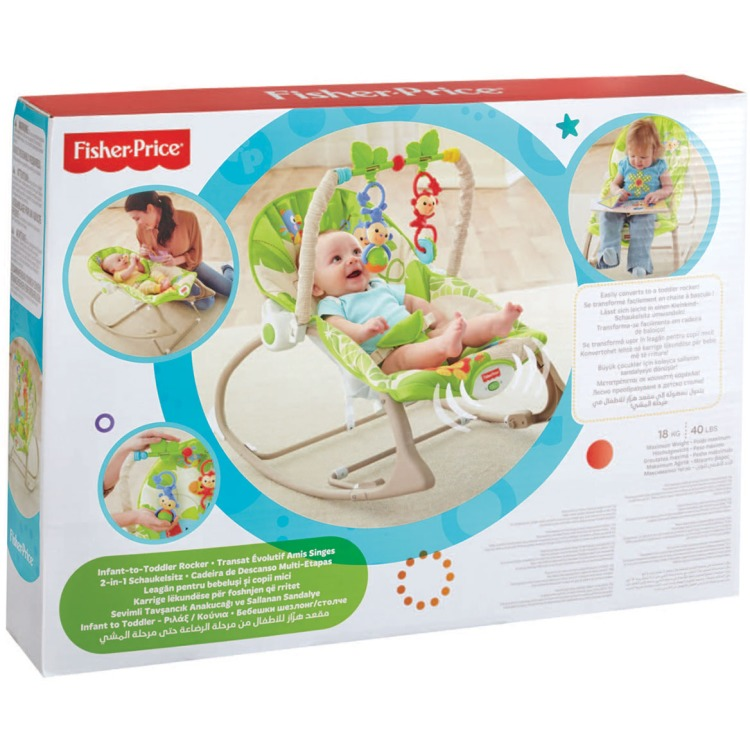 Fisher-Price Rainforest Friends Schommelstoel