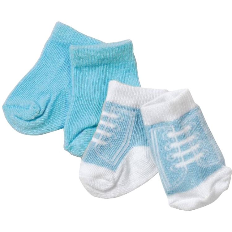 Baby Born Sokken 2 - pack blauw