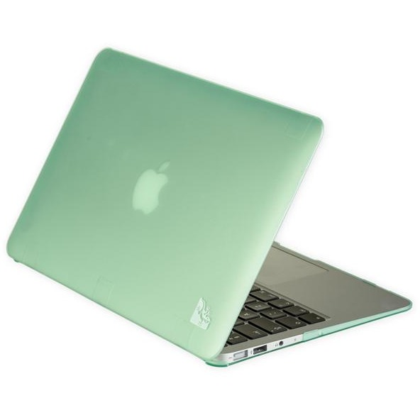 Gecko Covers 'Clip On' hoes voor MacBook Air 13 inch - Groen