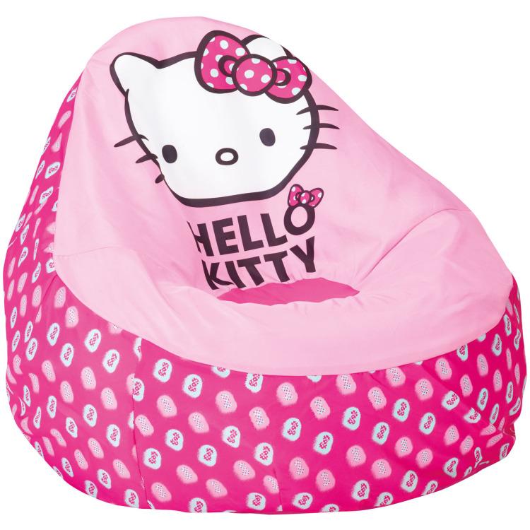 Hello Kitty opblaasbaar zitkussen