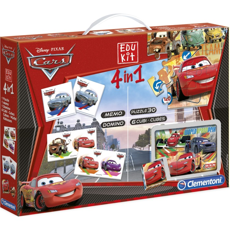 Image of Cars Superkit 4in1