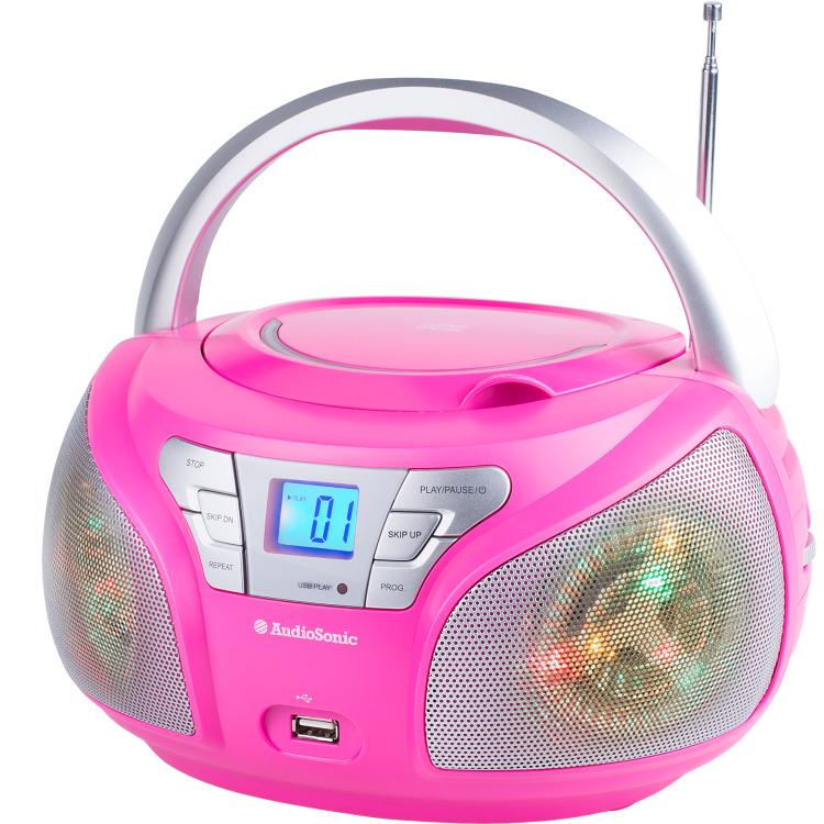 Radio Disco Led Licht Cd-1560 Pk