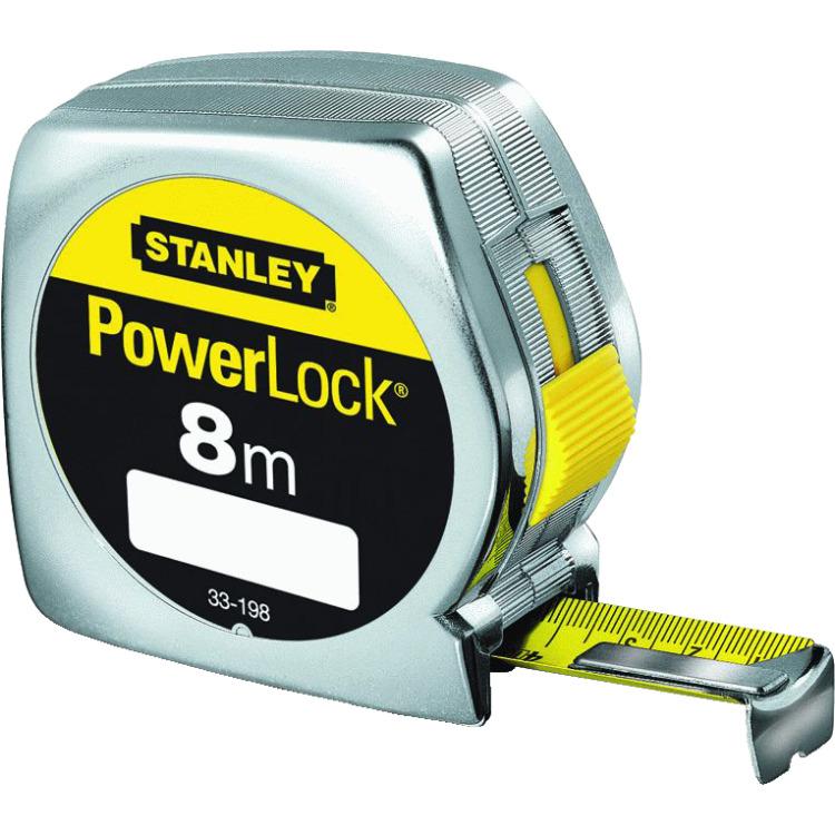 Rolbandmaat Powerlock 8M 25Mm