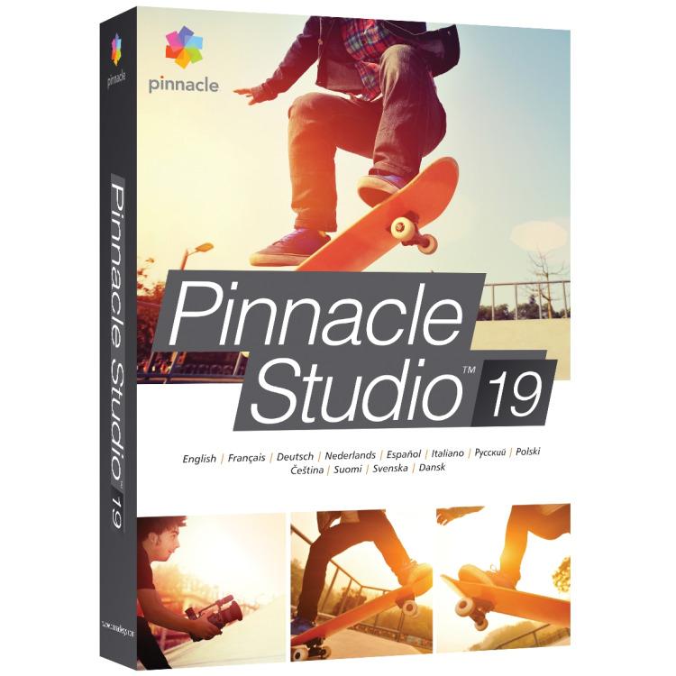Image of Pinnacle Studio 19 1u, Win, Multilingual