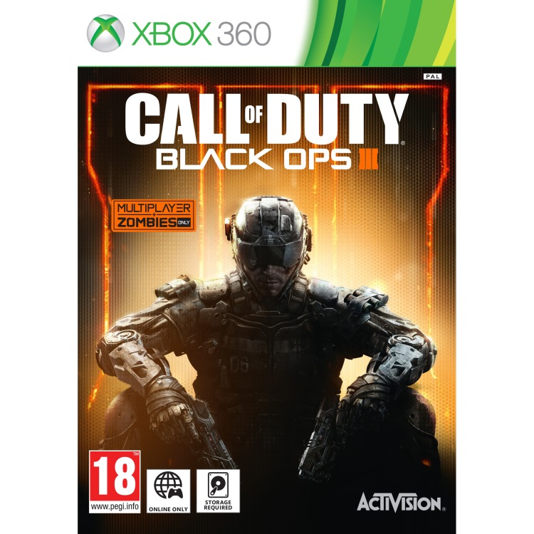 Image of Activision Call of Duty, Black Ops 3 Xbox 360