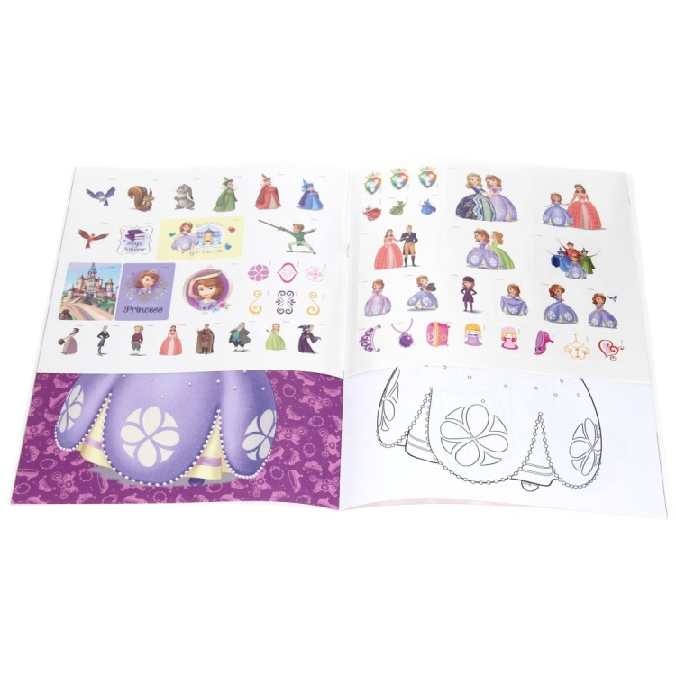 Disney prinses Sofia kleurboek met stickers