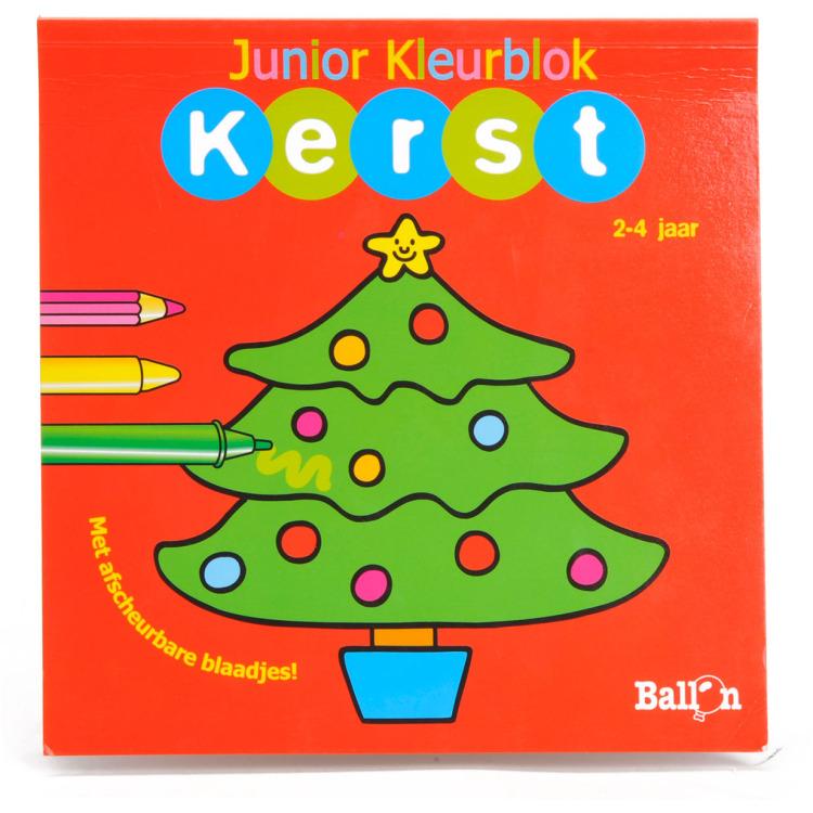 Image of Junior Kleurboek Kerst