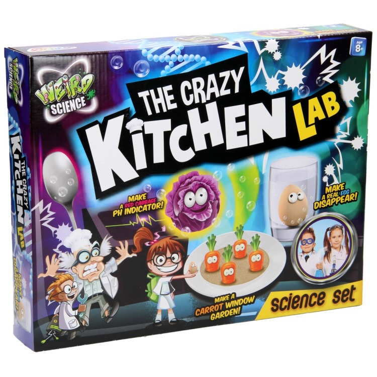Image of Weird Science The Crazy Kitchen Lab