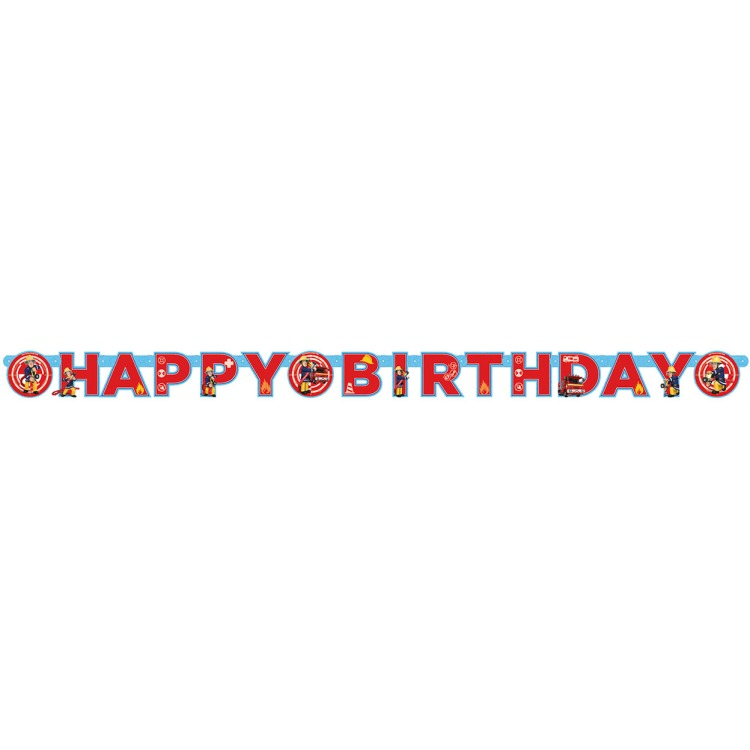 Image of Happy Birthday Letterslinger, 1,8 M