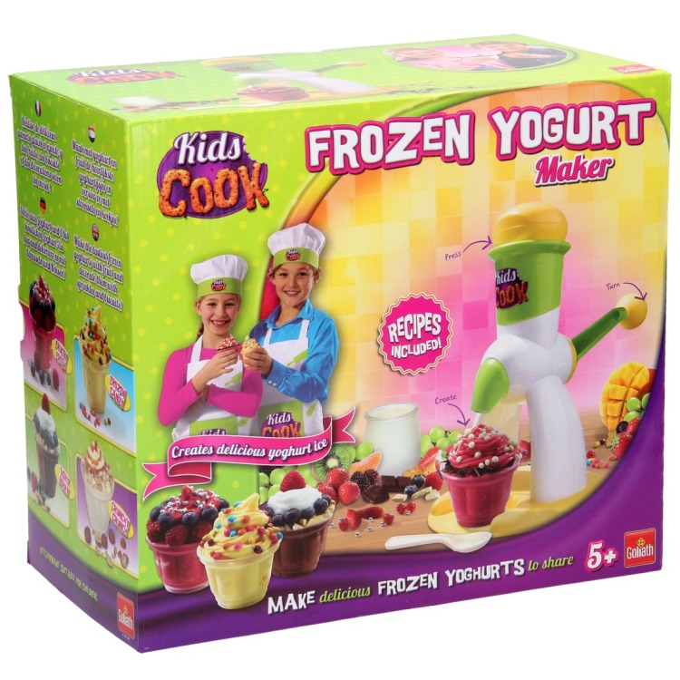 Kids Cook Frozen Yoghurt Maker