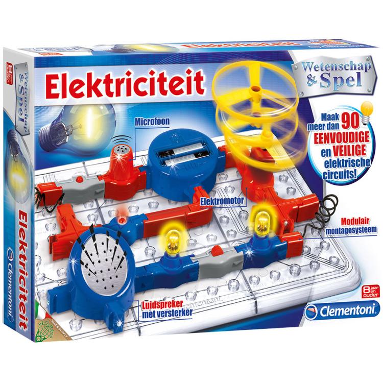 Image of Clementoni Wetenschapsspel Elektriciteit 8+