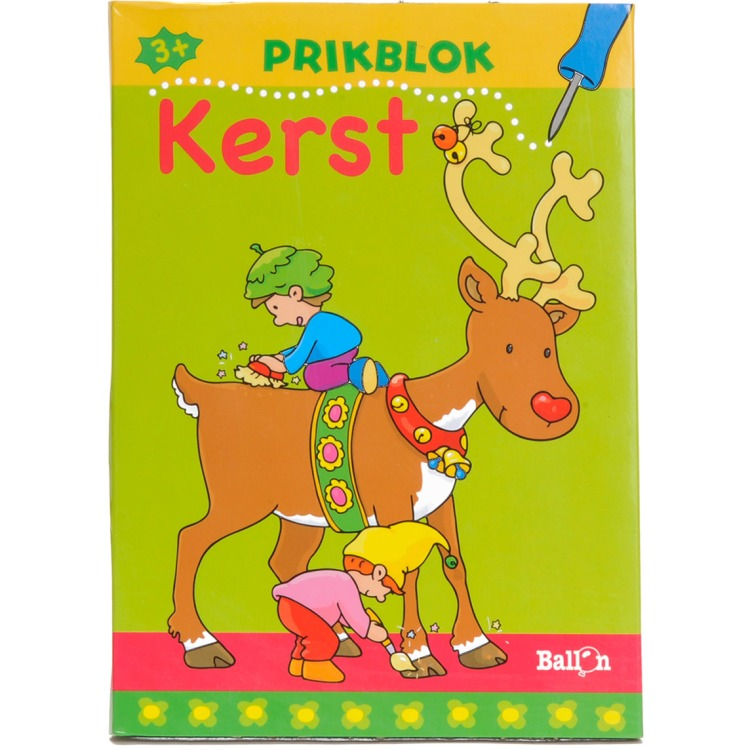 Image of Prikblok Kerst
