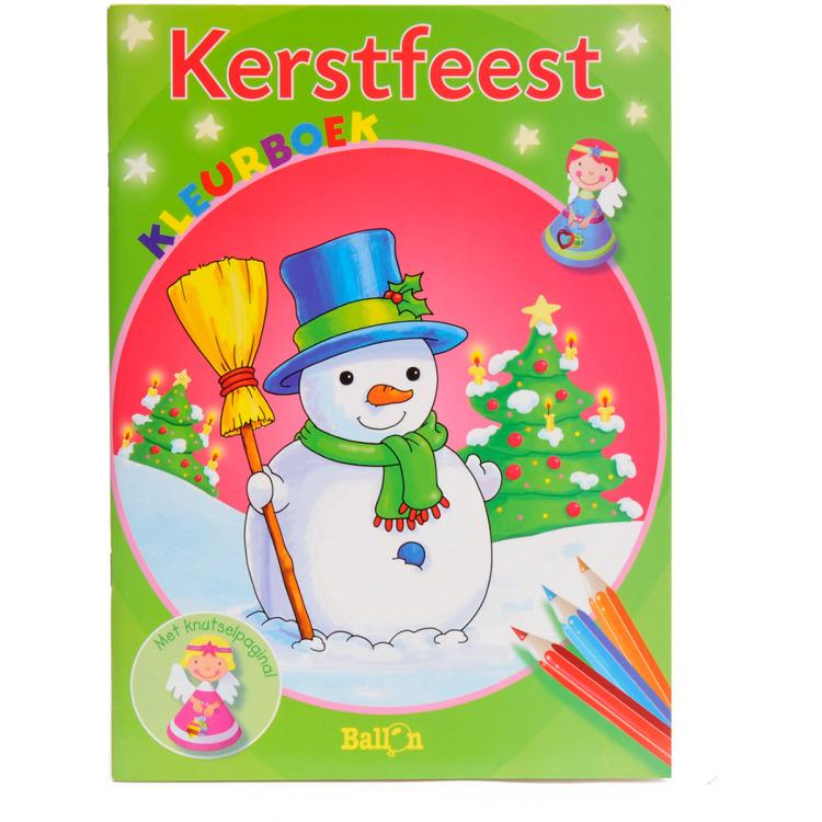Image of Kerstfeest Kleur- En Knutselboek