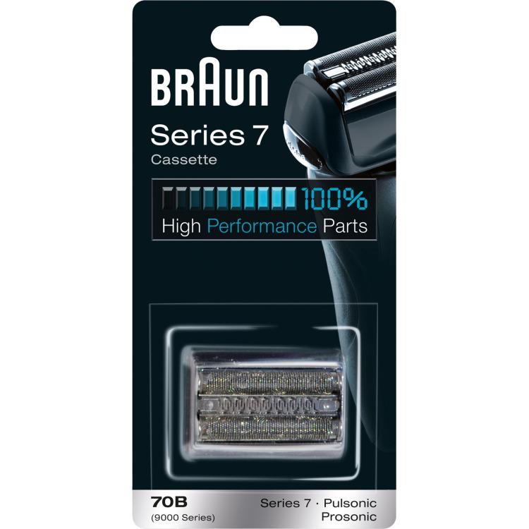 Scheerkop Braun 70B combipack 9000 Zwart 1 set