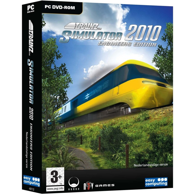 Easy Computing Trainz, Railway Simulator 2010 (Engineers Edition) (DVD-Rom) (9789045648125)