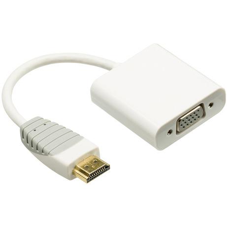 Hdmi Naar Vga-adapter Hdmi-connector Vga Contraplug 0,2 M Wit