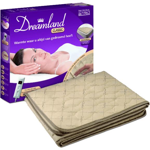 Productafbeelding voor 'Dreamland 1-persoons elektrische deken'