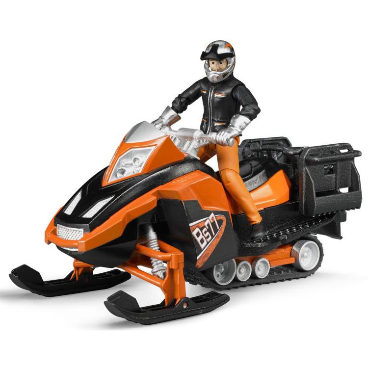 Image of Bruder - snowmobil met bestuurder en accessoires