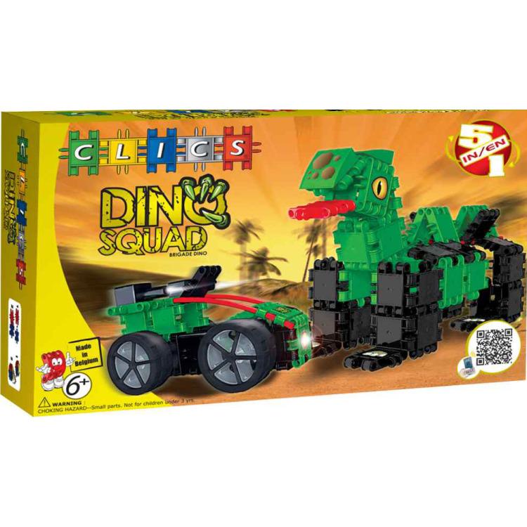 Image of Clic Dino Squad Box 5-in-1
