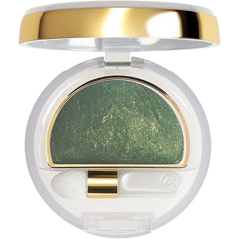 Image of Collistar Double Effect Eye Shadow Wet&Dry nr10 goud groen
