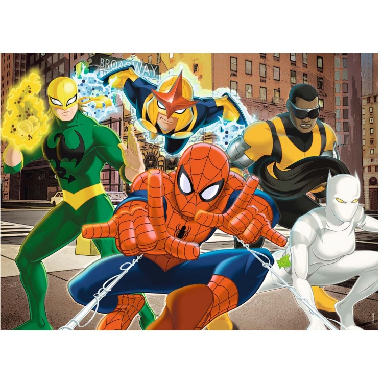 Ravensburger puzzel Ultimate Spiderman 100 XXL.
