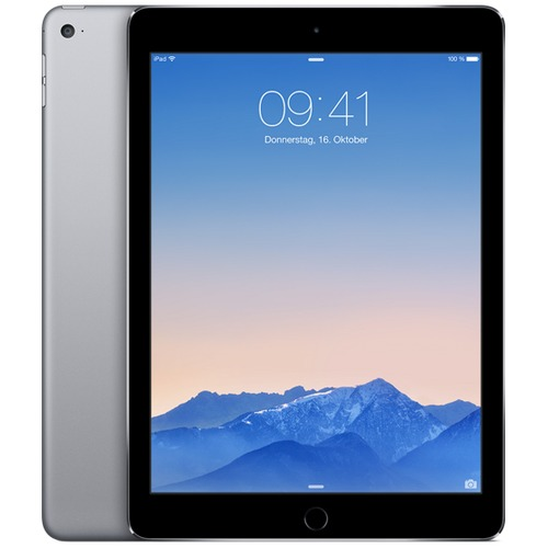 Apple iPad Air 2 Wi-Fi 128GB - Spacegrijs MGTX2FD/A