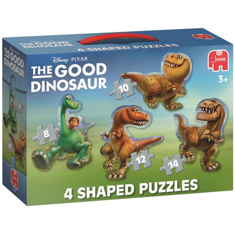 The Good Dinosaur Vormenpuzzel, 4in1