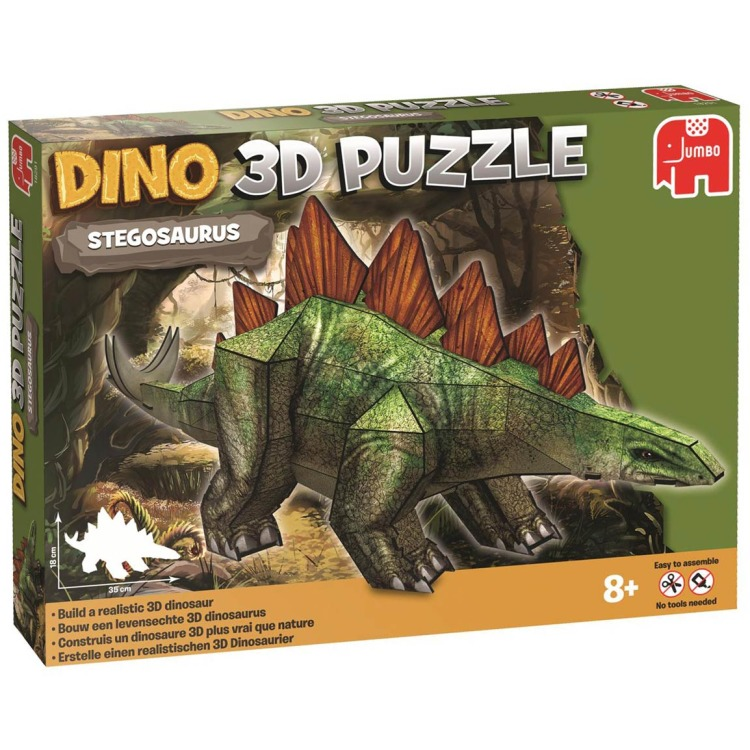 Image of Dino 3D Puzzel - Stegosaurus