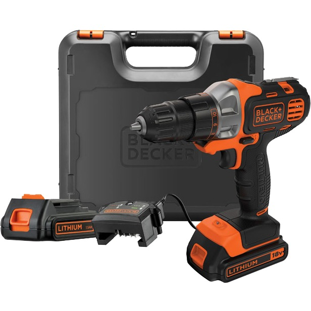 Black & Decker MT218KB-QW Accuschroefboormachine