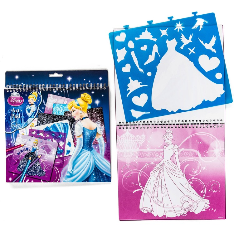 Disney Princess Sjablonen Knutselboek
