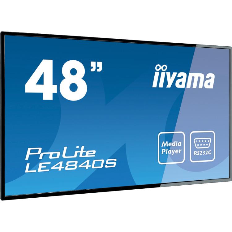 iiyama LE4840S-B1-48LED VGA DVI-D HDMI 8ms bk (LE4840S-B1)