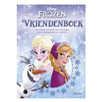 Image of Disney Frozen Vriendenboek