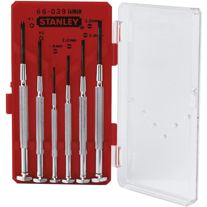 Stanley Precisieschoevendraaierset 1-66-039